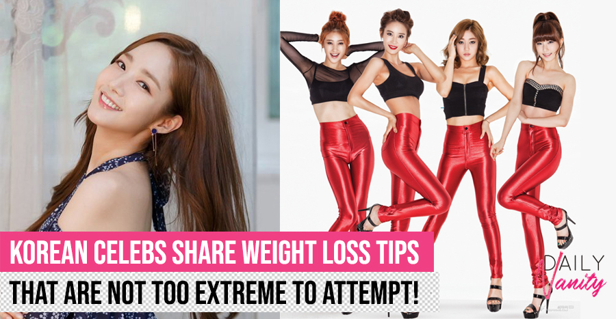 12 weight loss tips from Korean celebrities that aren't too extreme to try