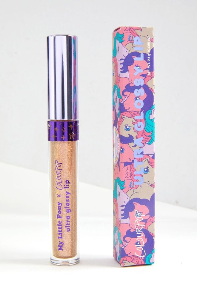 colourpop my little pony ultra glossy lip dream castle