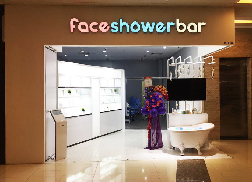 facial for acne face shower bar 1