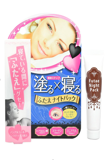 japan drugstore must buy Futae Night Pack Double Eyelid
