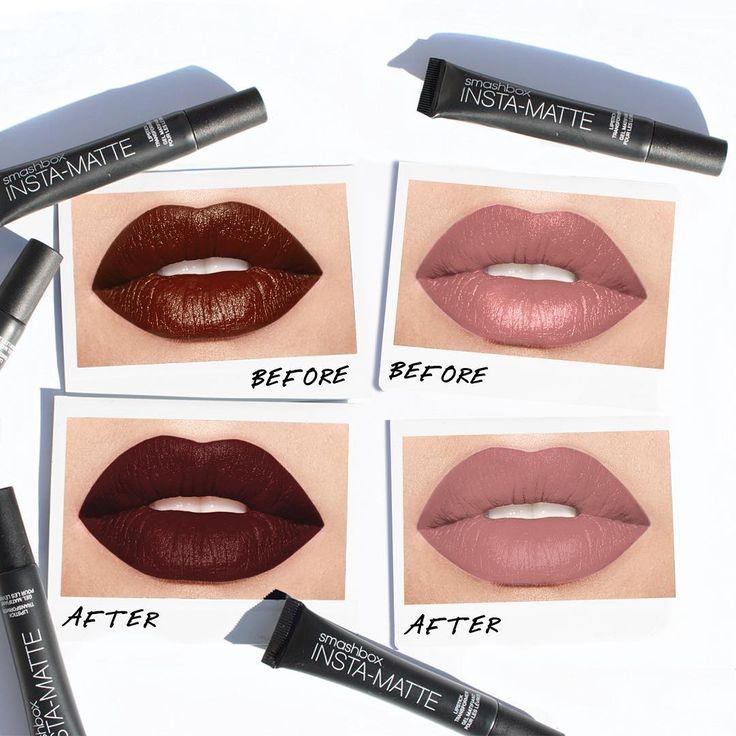lip top coats Smashbox Insta-Matte Lipstick Transformer