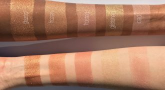 rose gold highlighters feature