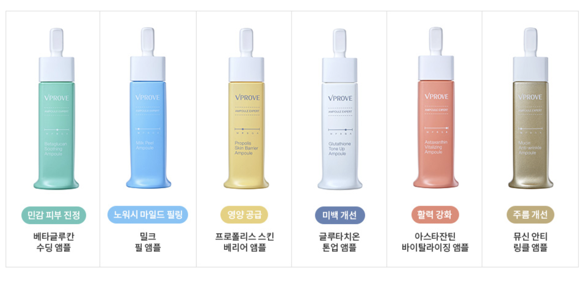 What Cosmetics To Buy In Korea These 30 Products Are Only Sold There Cream 2 1 Premium Utilising A Similar Concept The Expert Line Ampoule Consists Of Six Different Ampoules Addressing Various Skin Concerns As Well