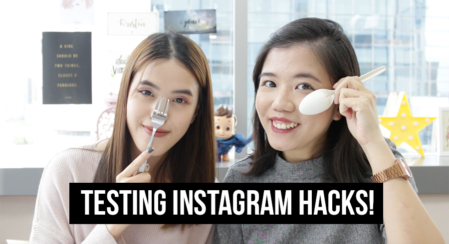 Do Instagram beauty hacks REALLY work? We tested some and here's what happened!
