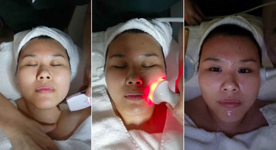 I tried a S$1,288 facial and this is how it went