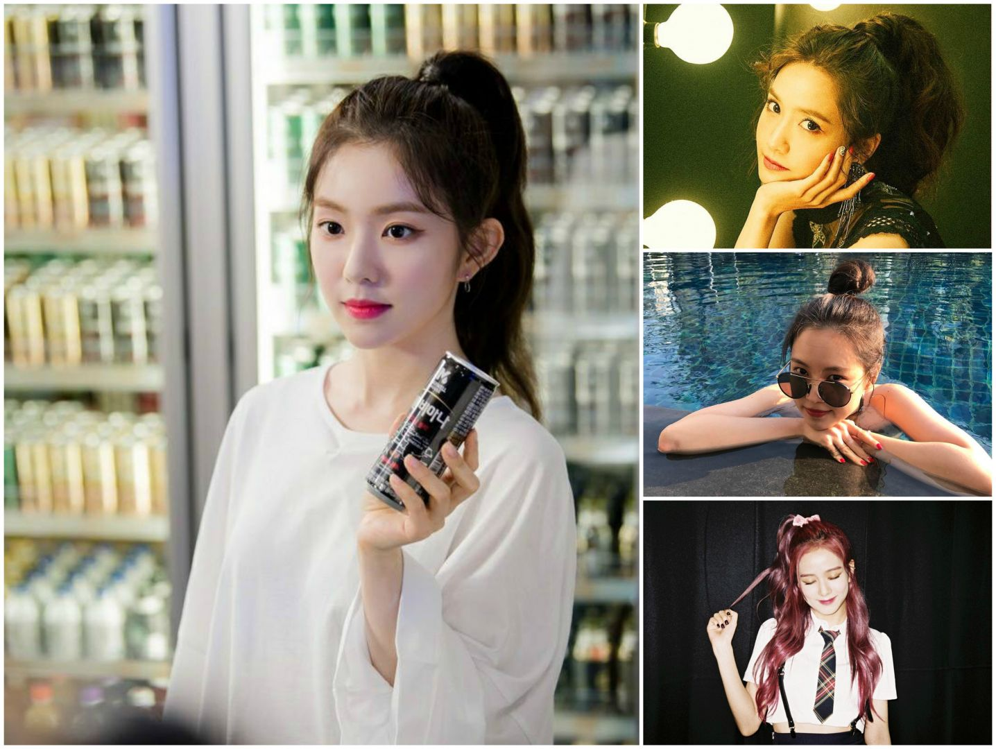 Korean New Hairstyle That Celebs Love Baby Hair Bangs