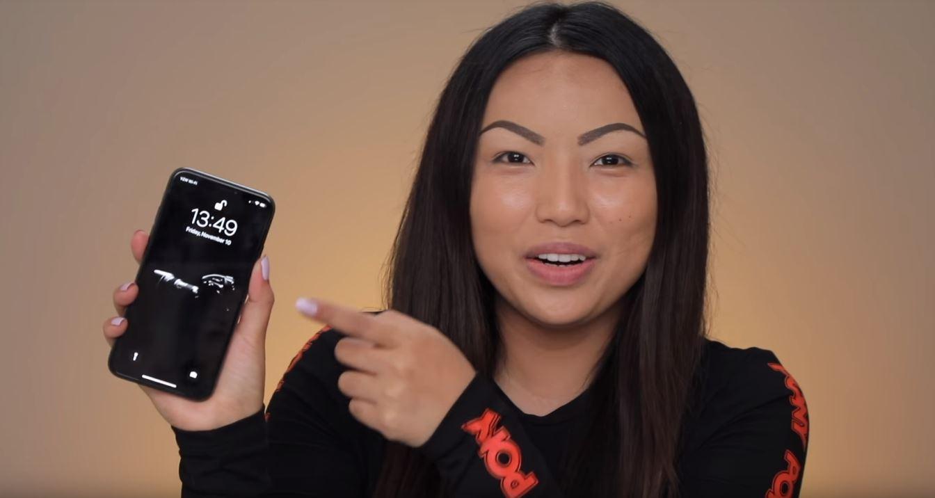 makeup vs iphone x 5