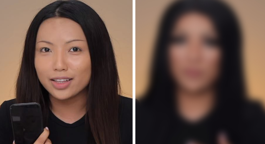 Makeup vs iPhone X? Woman tries to trick iPhone X's face recognition function with tons of makeup