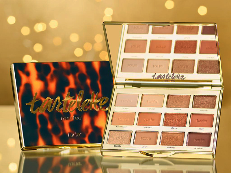 2017 beauty trends tarte tartelette toasted