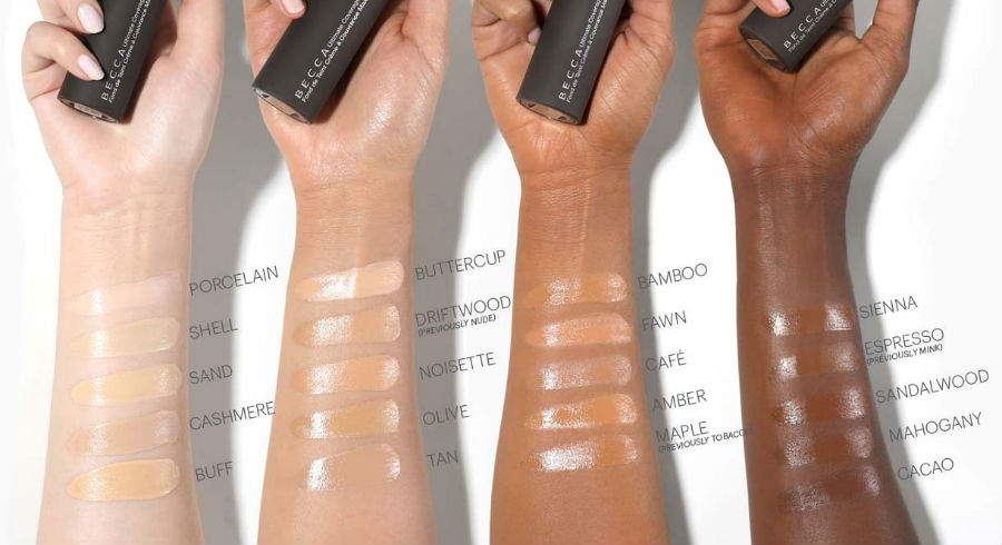 12 brands with more than 20 shades of foundations, besides Fenty Beauty
