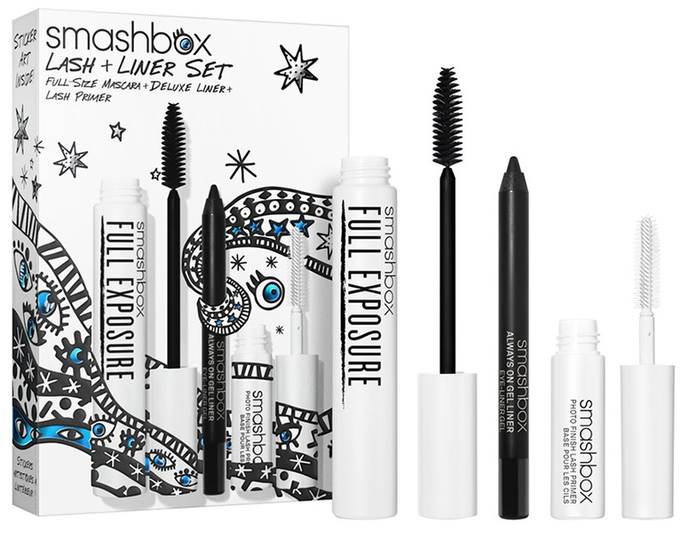 post christmas beauty sale Smashbox Lash + Liner Set (Limited Edition)