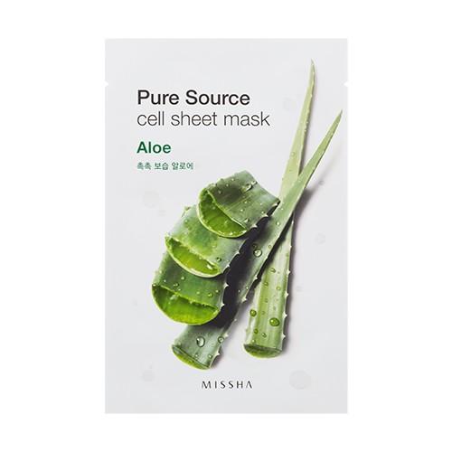 Missha Pure Source Cell Sheet Mask (Aloe)