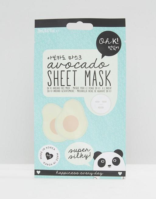 Oh K! Avocado Super Silky Sheet Mask