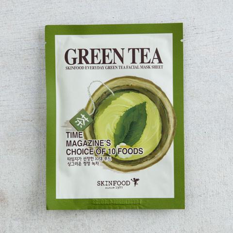 Skinfood Everyday Green Tea Facial Sheet Mask