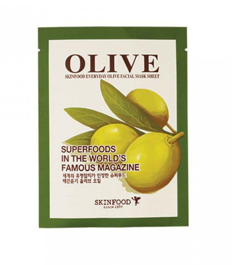 Skinfood Everyday Facial Mask Sheet (Olive)