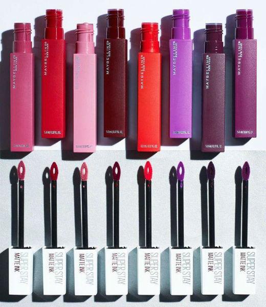 Maybelline Super Stay Matte Ink Liquid Lipsticks Review