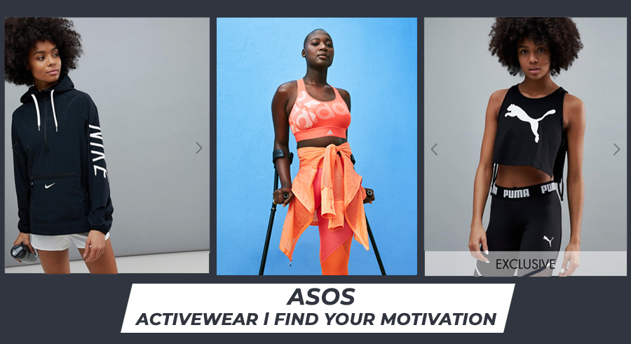 Shop Adidas, Reebok, Nike on ASOS today