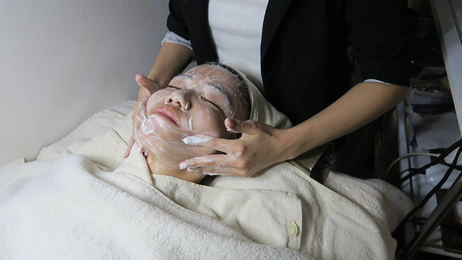 brightening facial singapore sg face 1