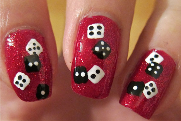 Cny Nails Dice