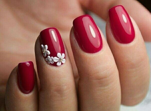 Cny Nails Red 2