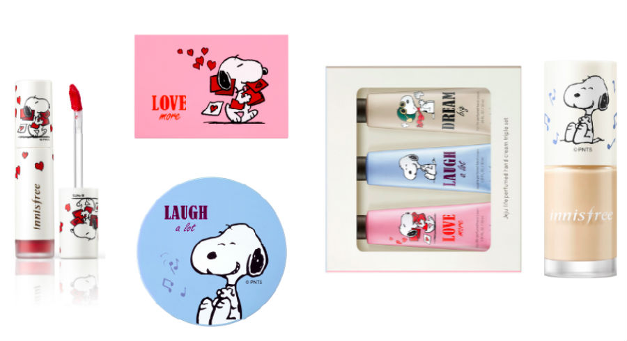 This innisfree x Snoopy collection is every '90s kids' dream