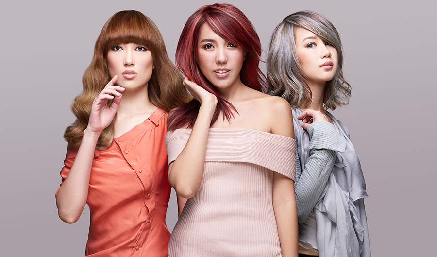 How To Get These Trending Hair Colours For Your Chinese New Year Ootds