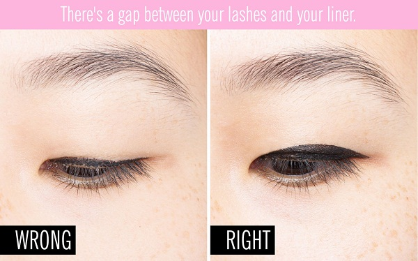 makeup for beginners eyeliner gap
