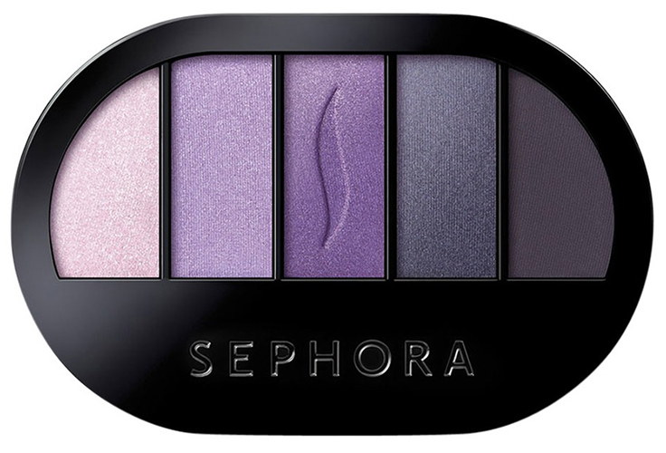 pantone ultraviolet makeup sephora collection colorful 5 eyeshadow palette 03