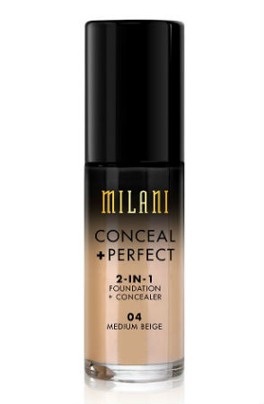 Best Drugstore Foundation Milani Conceal And Perfect 2 In 1 Foundation