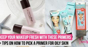 Best Primers For Oily Skin Featured