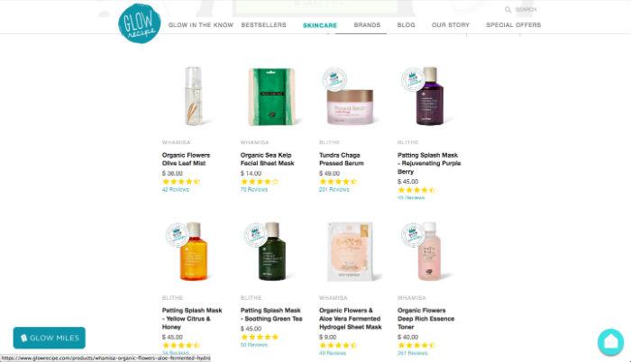 Online Beauty Stores Glow Recipe