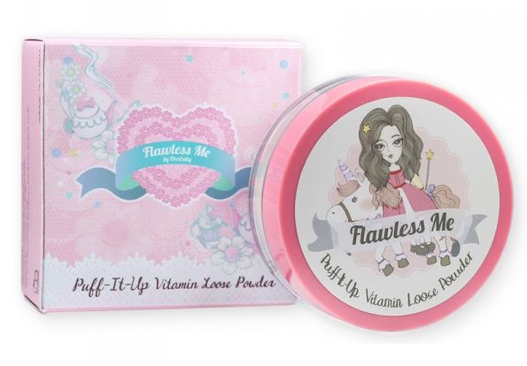 37 Best Bangkok Beauty Products Flawless Me Puff It Up Vitamin Loose Powder Translucent