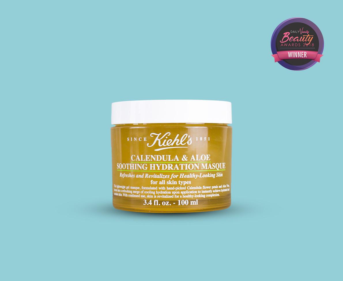 Kiehl's Calendula & Aloe Soothing Hydration Masque best moisturising mask