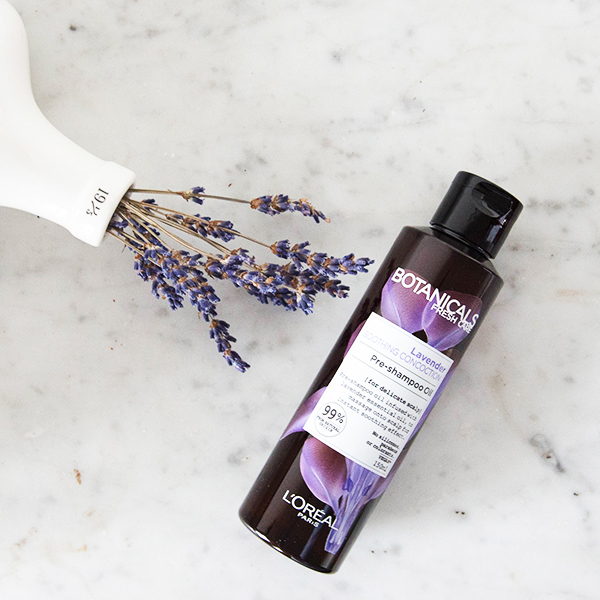 Loreal Paris Botanicals Fresh Care Organic Lavender Soothing Range Review Pre Shampoo Oil