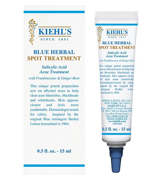 Acne Scar Creams Kiehls Blue Herbal Spot Treatment