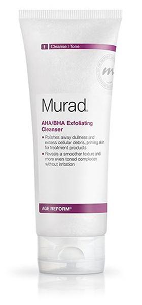Acne Scar Creams Murad Aha Bha Exfoliating Cleanser