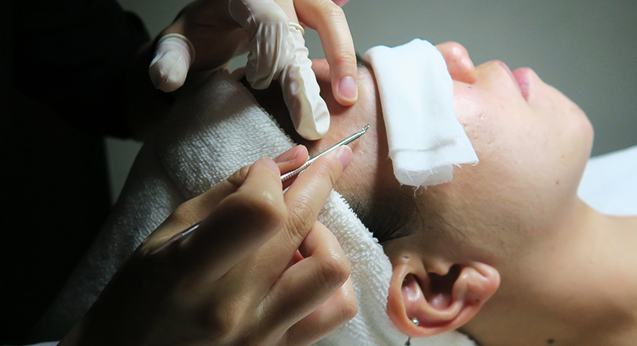 Extraction Facial Singapore Feature