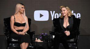 Kim Kardashian Madonna Beauty Secrets Feature