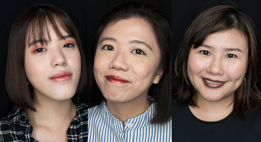 Metallic lipsticks too over-the-top for Singapore? We tried them for a day, and these are our thoughts.