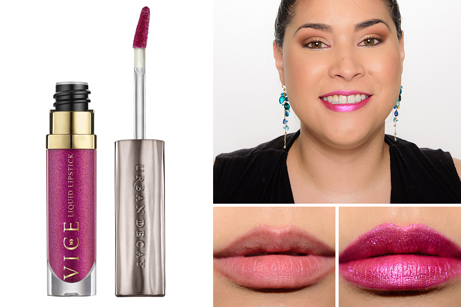 Metallic Lipsticks Urban Decay Vice Liquid Lipstick Big Bang 2