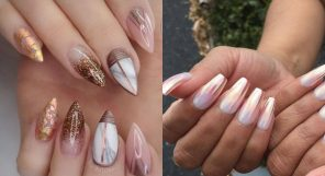 Rose Gold Nail Looks Feature