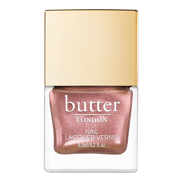Rose Gold Nails Butter London Glazen Nail Lacquer In Sea Shell