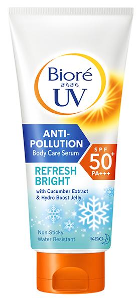 Anti Pollution Beauty Products Biore Uv Refresh Bright Anti Pollution Body Care Serum Copy