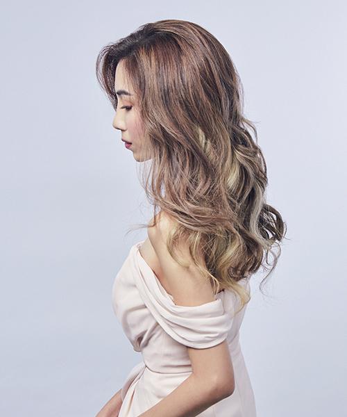 Ash Brown Balayage Singapore Nk Hairworks 1