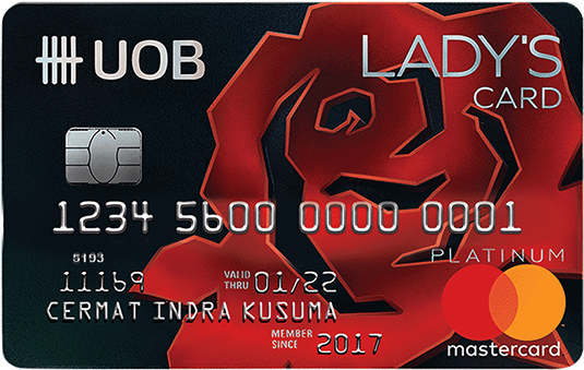 Best Credit Cards For Beauty Uob Ladys Card