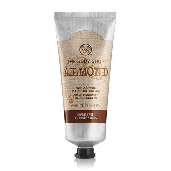 Best Hand Creams The Body Shop Almond Hand Nail Cream Daily Vanity