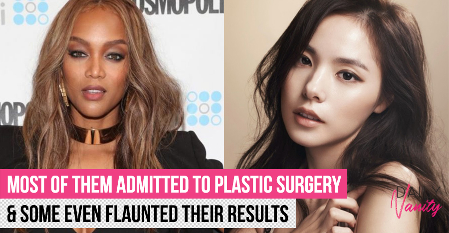 10 celebrities who have had dramatic plastic surgery transformations (Tyra Banks though?!)