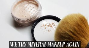 Trying Mineral Makeup Feature