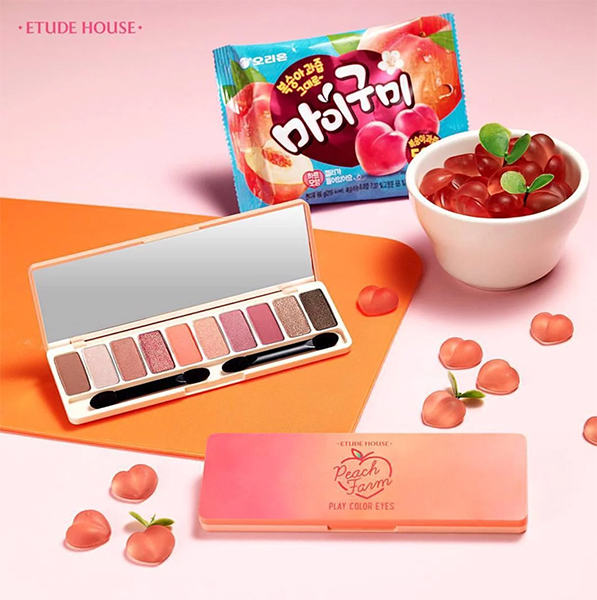 New Eyeshadow Palettes Etude House Play Color Eyes Peach Farm