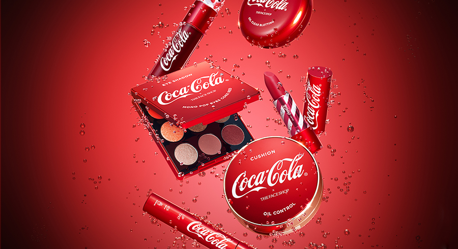The Face Shop X Coca Cola Feature